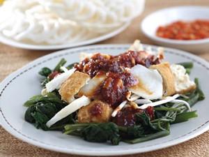 Resep Sayuran: Rujak Kangkung