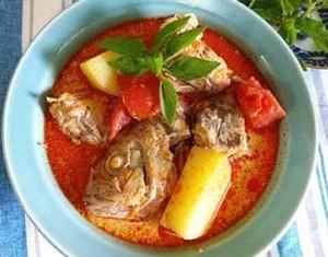 Resep Seafood: Ikan Kari Merah