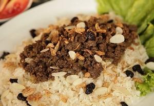 Resep Nasi: Nasi Kebuli Tabur Daging
