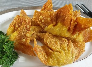 resep dim sum deep fried crispy wonton