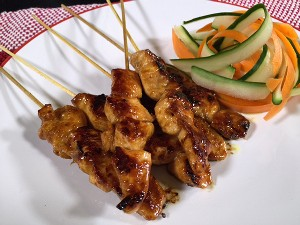 Resep Ayam: Sweet Chicken Satay