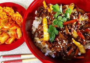 Resep Daging: Korean Beef Bowl