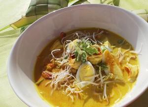 Resep Seafood: Laksa Udang