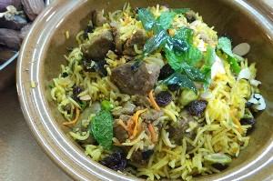 Resep Nasi: Kabuli Pulao Rice
