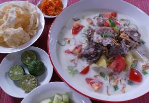 Resep Daging: Soto Betawi