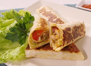 Resep Ayam: Spicy Chicken Wrap