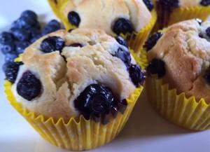 Resep Kue : Fresh Blueberry Muffin