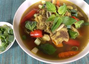 Resep Daging : Pindang Tulang Palembang