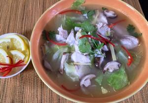 Resep Sup: Sup Kakap Lettuce