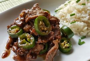 Resep Nasi : Nasi Hainan dan Beef Jalapeno