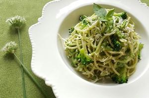 Resep Pasta : Spaghetti Saus Brokoli