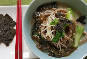 Resep Mie: Soba Kuah Miso Sayuran