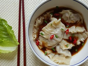 Resep Daging: Dumpling Daging Saus Pedas
