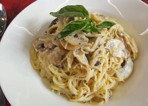 Resep Pasta:  Creamy Mushroom Pasta