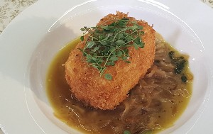 Resep Tahu : Breaded Tofu with Onion Broth
