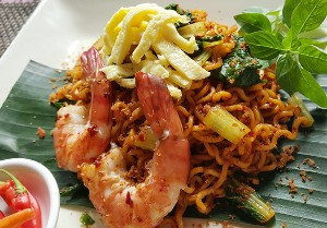 Resep Mie: Mie Goreng Instan Crunchy Chilli