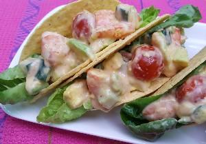 Resep Seafood: Prawn Cocktail Tacos