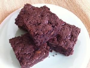 Choco Fruity Nut Brownies