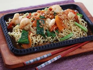 Resep Mie: Mi Hot Plate Udang