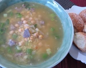 Resep Sup : Sup Chickpea Pedas