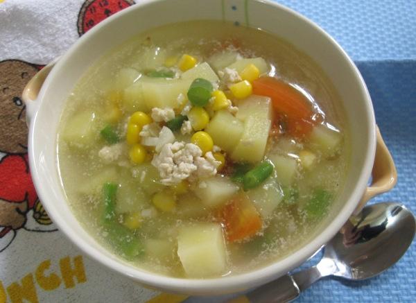 Resep Anak Sup Kentang Jagung Manis