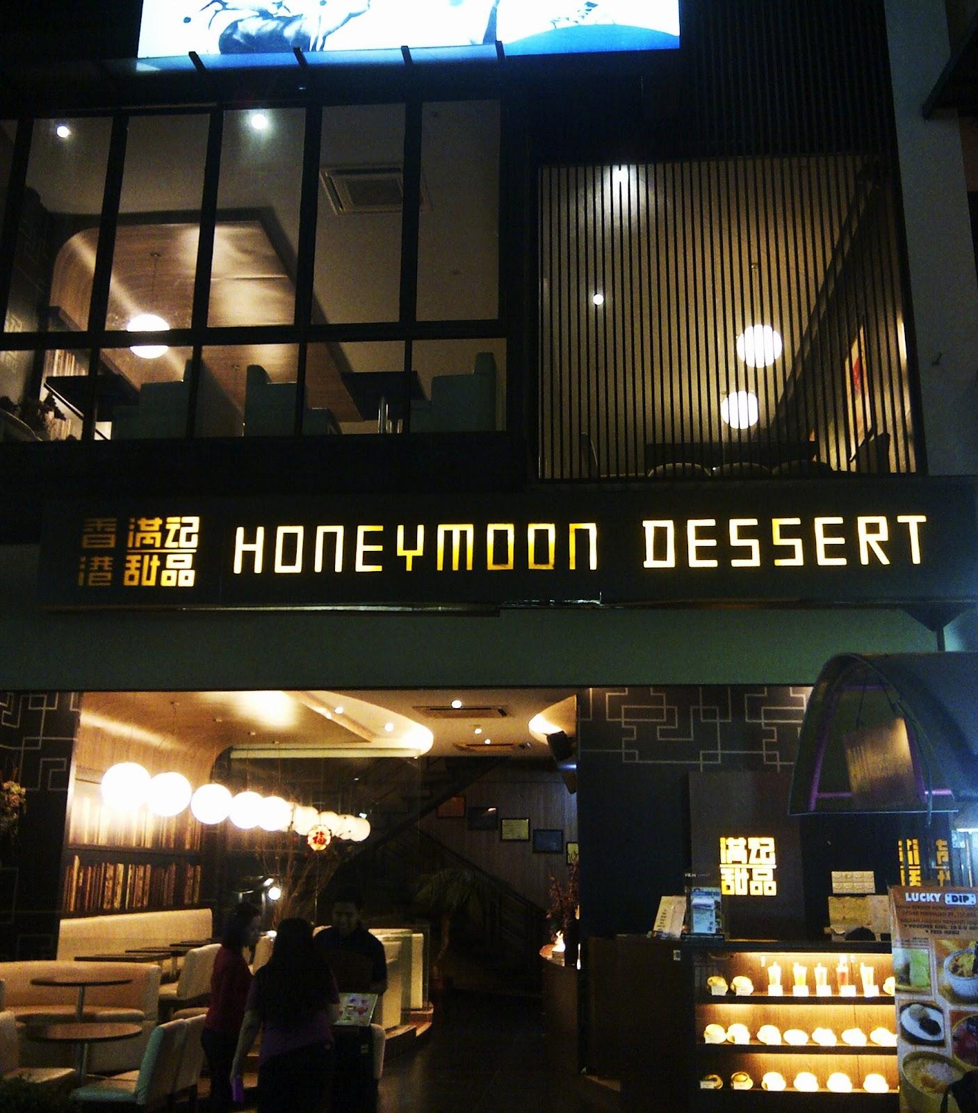 Honeymoon dessert Ciwalk