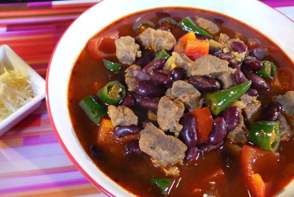 Resep Sup Texas Chilli Bean