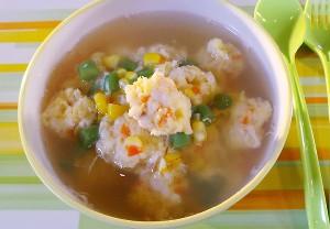 Resep Anak: Sup Bola Ikan