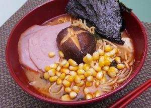 Resep Mie: Spicy Miso Ramen