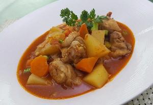 Resep Ayam: Spicy Chicken Stew
