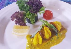 Resep Salad : Selada Udang Saus Kemangi