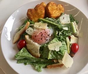 Resep Salad: Kale Caesar Salad